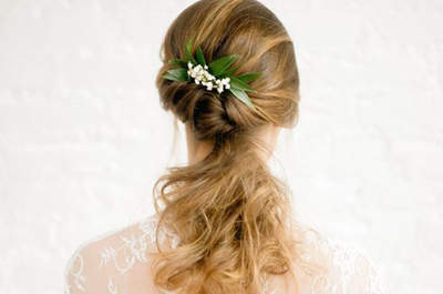 Espectaculares penteados de noiva com rabo de cavalo: vai desejar brilhar com todos!