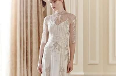 Romantyczne i pełne uroku suknie ślubne od Jenny Packham na wiosnę 2014