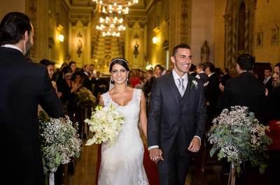 Karla & Franco: Casamento clássico com um toque moderno no Rio Grande do Sul