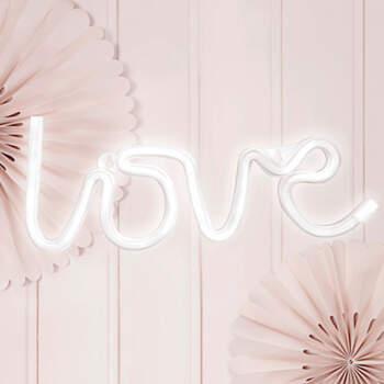 """Luz de Neon Led """"Love""""- Compra en The Wedding Shop"""