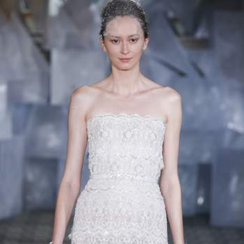 MIRA ZWILLINGER. Credits: New York Bridal FASHION WEEK April 2018