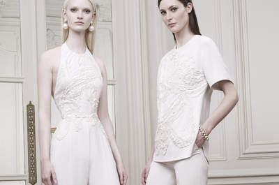Elie Saab Crucero 2015: Elegantes vestidos y conjuntos para una novia que ama las tendencias