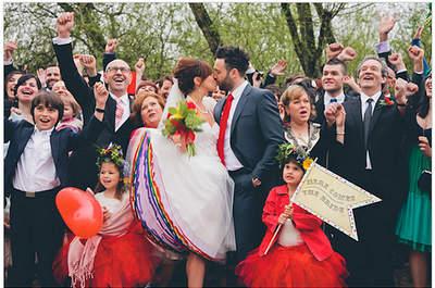 Real Wedding: Um casamento com muita cor e alegria