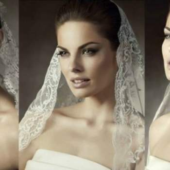 Tendenze 2013 per i veli da sposa...andranno ancora con il bordo in pizzo! Foto www.carnevalispose.com