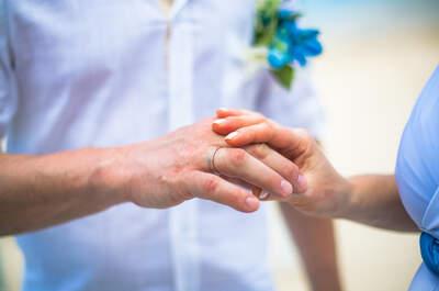 Mein Mann will keinen Ehering tragen! Das sind die Alternativen dazu