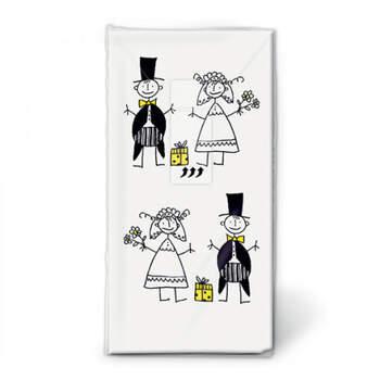 Pañuelos Novios Graciosos- Compra en The Wedding Shop
