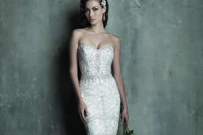 Les robes de mariée 2015 : les pierres sont à l'honneur