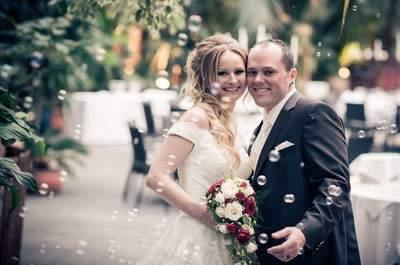 Exotik pur bei der Hochzeit von Conny & Simon im Giardino Verde!