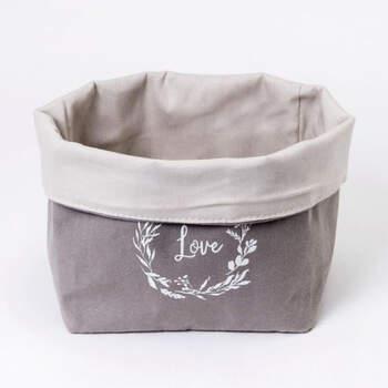 Canasta de algodón Love- Compra en The Wedding Shop
