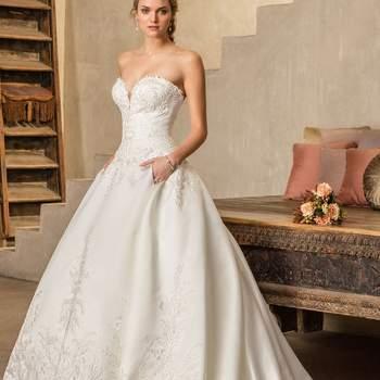 50 magníficos vestidos de novia con falda voluminosa: consigue un look único