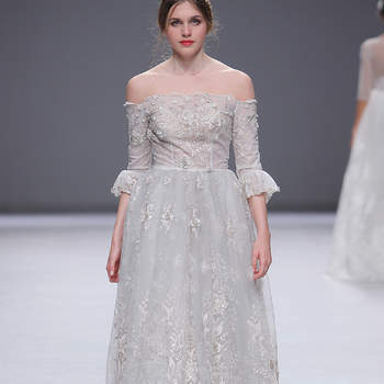 Esther Noriega. Credits: Barcelona Bridal Fashion Week