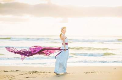 Die neue Brautmoden-Kollektion 2015 von NONI: farbenfroh und einfach zauberhaft!