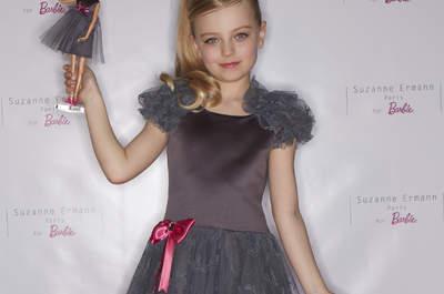 Suzanne Ermann propose une merveilleuse collection capsule pour les petites filles et leurs poupées Barbie !