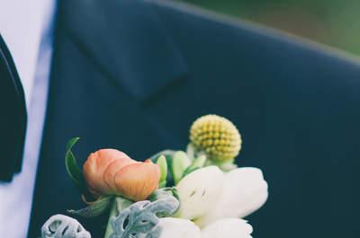 Fiori per lo sposo: il tocco giusto per il look perfetto!