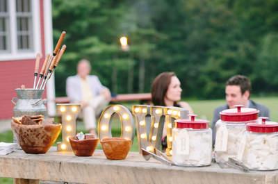 Decoratie voor een rustieke bruiloft: een persoonlijke touch!