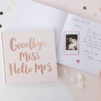 Libro de firmas Team Bride- Compra en The Wedding Shop