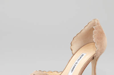 Zapatos de novia Manolo Blahnik 2017. ¡Inspírate con estos exclusivos diseños!