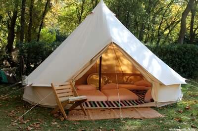 Un mariage hippy chic ? Logez vos invités de mariage en tentes de luxe !