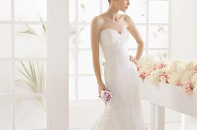 30 vestidos de novia con corte sirena 2016 que te encantarán