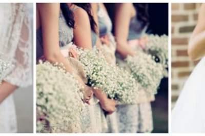 Em branco: casamentos com vivaz