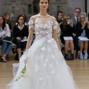 Entdecken Sie moderne Brautkleider im Off-Shoulder-Look – Geniale Looks für die Hochzeit