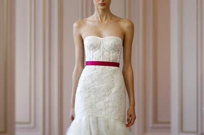 Oscar De La Renta : Découvrez la première collection ultra-féminine de robes de mariée Printemps-Été 2016 de Peter Copping
