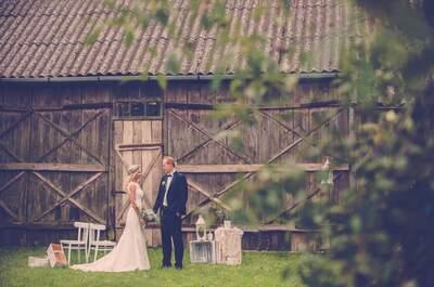 Rustykalne piękno uchwycone w sesji ślubnej! Cudowna!