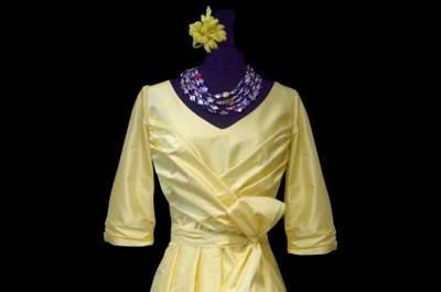 Catherine Varnier : des robes de cocktail colorées et sur mesure pour des invitées au top !