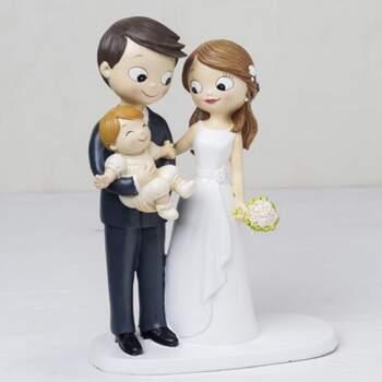 Cake Topper Mariée Avec Bébé - The Wedding Shop !