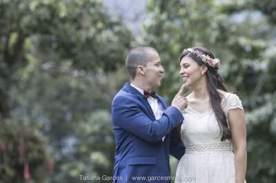 La boda de Paula y John: ¡La distancia no puede con el amor!