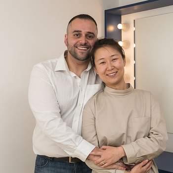 """Quiaozhen Zhang tem 31 anos e é bancária. José Carmo tem 33 e é cozinheiro. São dos Olivais e vão casar pelo civil, acreditando que """"partilhar é amar"""""""