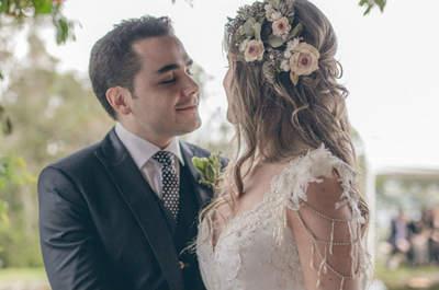 La boda de María Clara y Santiago: ¡Romance en el bosque encantado!
