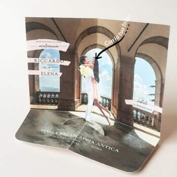 Invitaciones 3D Arcos- Compra en The Wedding Shop