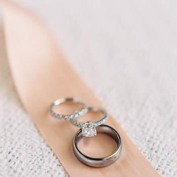 5b986a9c70f4 Argollas de matrimonio y anillos de compromiso  35 modelos únicos ...