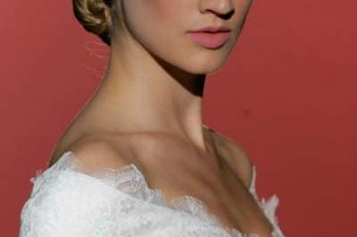 Hannibal Laguna, collezione sposa 2015. Foto Barcelona Bridal Week
