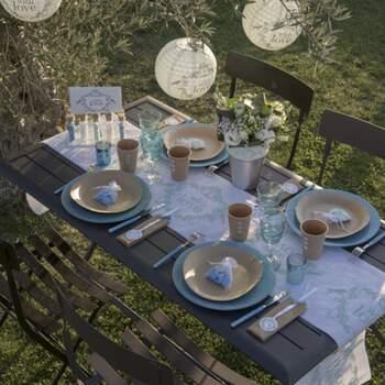 Rouleau De Table With Love - The Wedding Shop !
