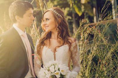 Carla & Felipe: destination wedding rústico chique com toques vintage na fazenda da família!