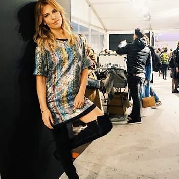 Ana Rita Clara vestida por Ana Sousa  Foto via Instagram