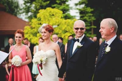 Perfekcyjne wesele w plenerze w Szkockim Ranczu. Tak pięknie jeszcze nie było!