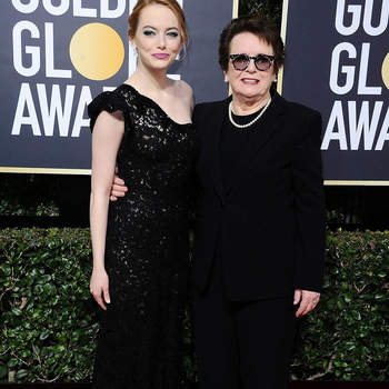 Emma Stone e Billie Jean King. Credits: Cordon Press