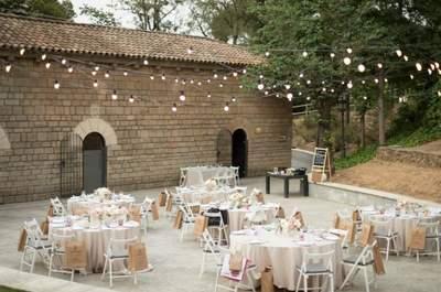 Los 10 mejores lugares de celebración de bodas con alojamiento en Barcelona