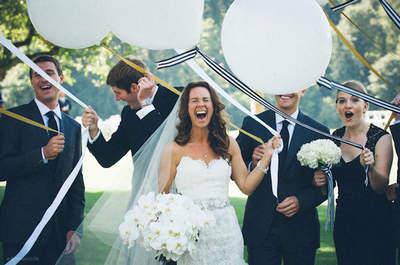 Un clásico muy moderno: El blanco y negro, máxima tendencia en tu boda