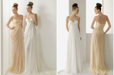 Inspiração: vestidos de noiva coloridos
