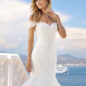 """Ladybird: la linea """"Silhouette"""" è quella dedicata alle spose appassionate di moda. Si tratta di abiti da sposa fascianti, sexy e audaci, in grado di valorizzare la fisicità della donna."""