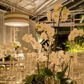 As orquídeas são lindas, clássicas e versáteis. Podem ser usadas em toda a festa e dão um charme mais que especial. Veja estas ideias da Lais Aguiar para usá-las na decoração.