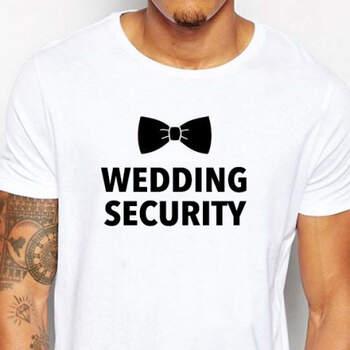 Camiseta Wedding Security- Compra en The Wedding Shop