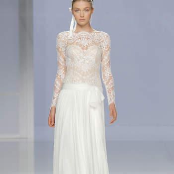 Vestidos de novia con lazos. ¡Romanticismo extremo!
