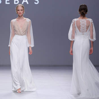 Beba's closet. Barcelona Bridal Fashion week.