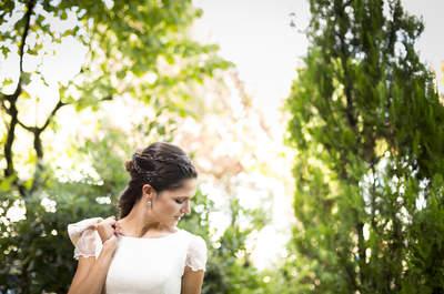Qué pendientes de novia elegir según tu peinado