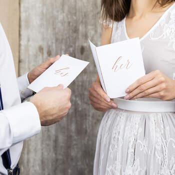 Libritos De Promesas Blanco- Compra en The Wedding Shop
